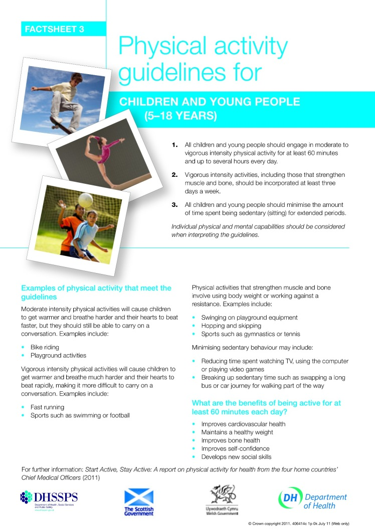 Exercise And Fitness Pewsey Youth Group